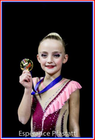 Léna championnne de France 2019
