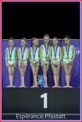 10 -11 ans championnes de France 2019